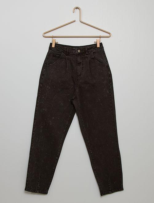 Pantalon en denim slouchy                                         noir