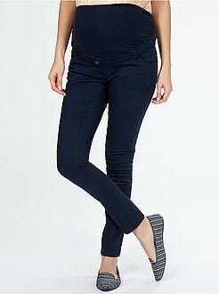 Maternité Pantalon en gabardine 5 poches