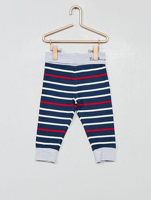 Pantalon en jersey 'Little Marcel'                             bleu