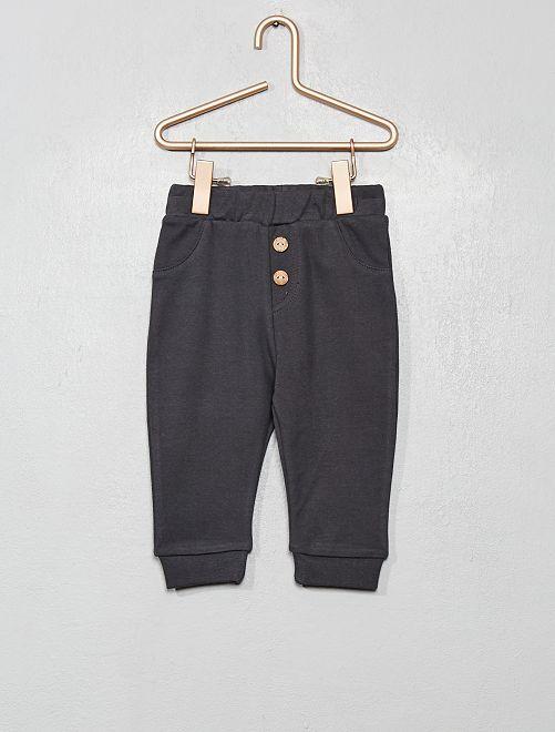 Pantalon en maille                                                     anthracite