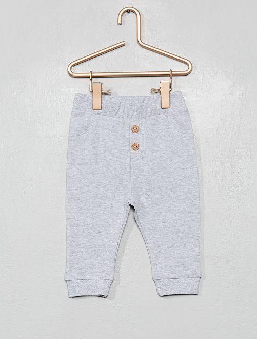Pantalon en maille                                                     gris clair