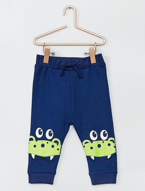 Pantalon en molleton                                         bleu
