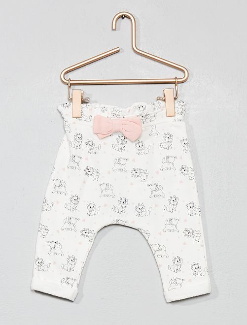Pantalon en molleton 'Disney Baby'                             blanc cassé Bébé fille