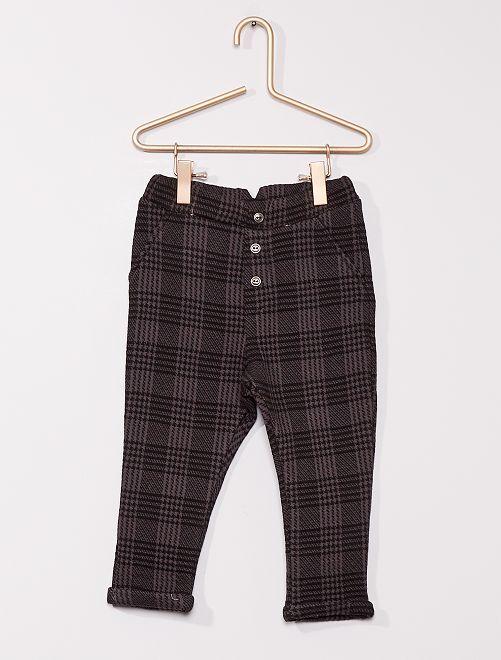 Pantalon en molleton 'éco-conçu'                                                     gris anthracite