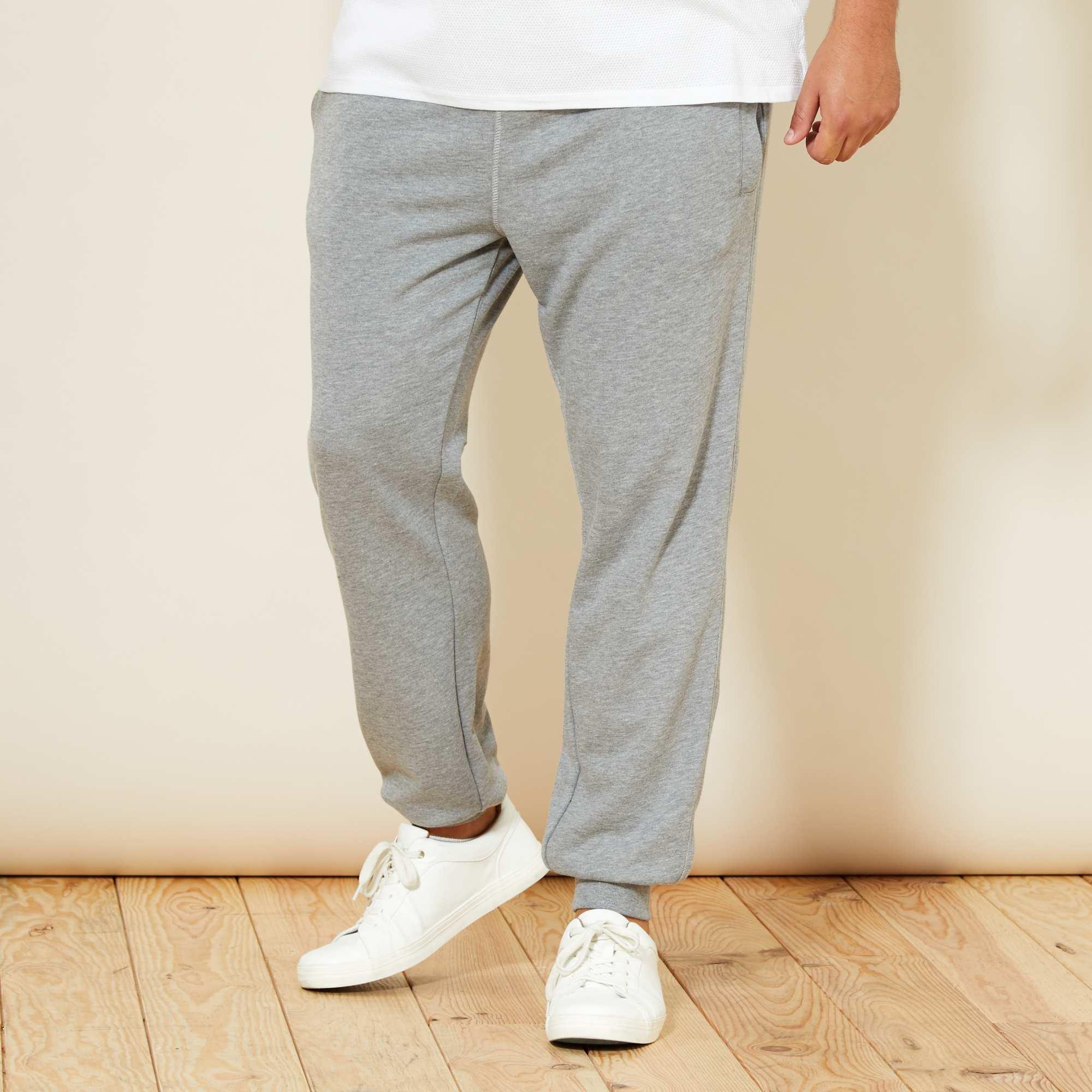 pantalon en molleton grande taille homme kiabi 9 10. Black Bedroom Furniture Sets. Home Design Ideas