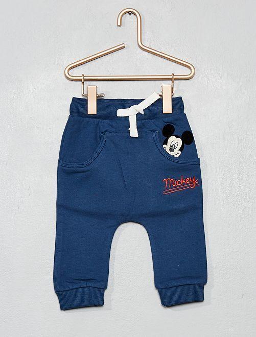 Pantalon en molleton 'Mickey'                             bleu