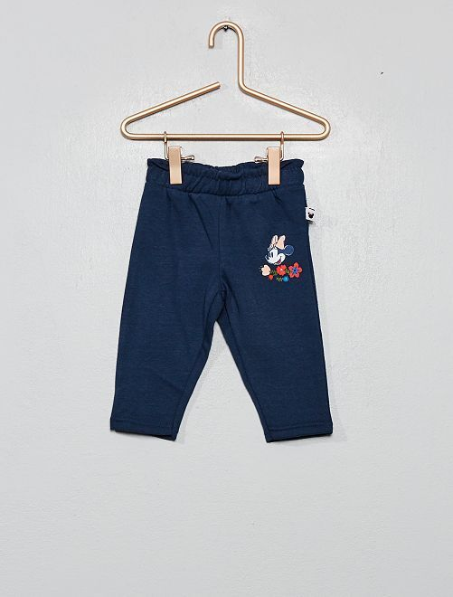 Pantalon en molleton 'Minnie'                             bleu