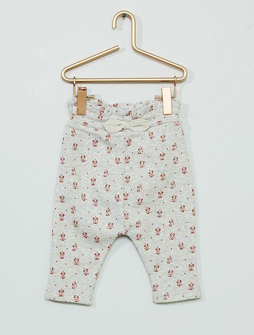 Pantalon en molleton 'Minnie' éco-conçu                             gris