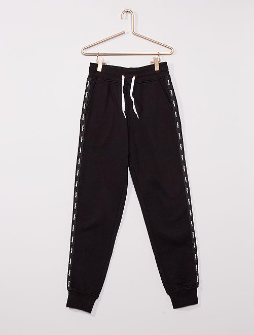Pantalon en molleton                     noir