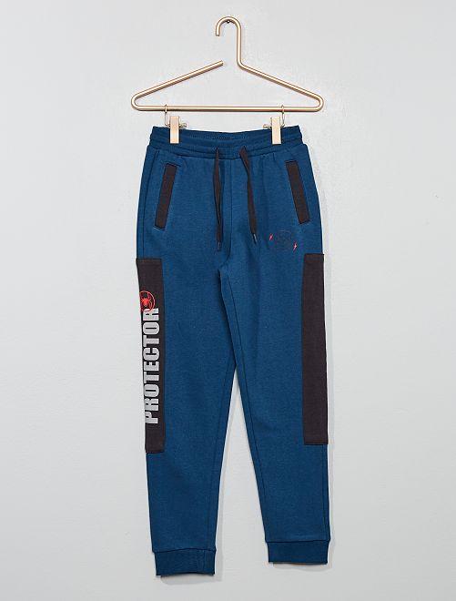 Pantalon en molleton 'Spider-Man'                             bleu