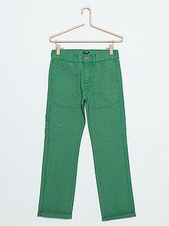 Garçon 3-12 ans Pantalon en pur coton