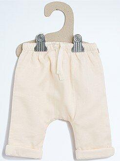 Fille 0-36 mois Pantalon en toile doublée