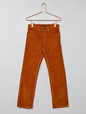 Pantalon en velours côtelé - Kiabi