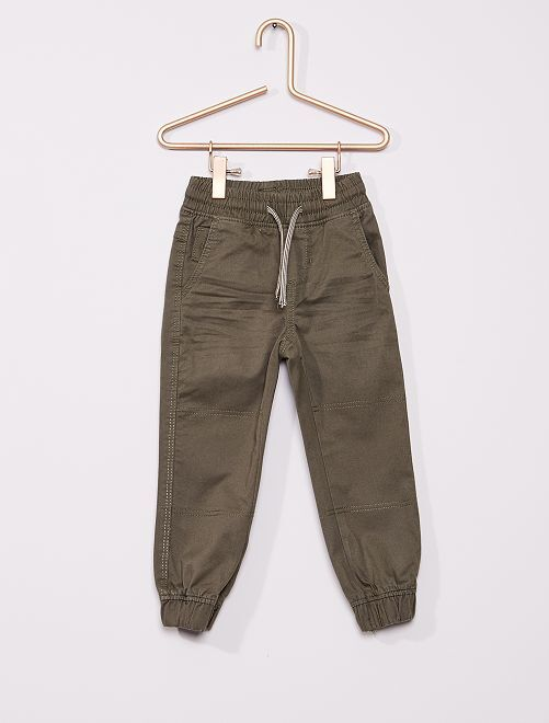 Pantalon enfant fin                                         kaki