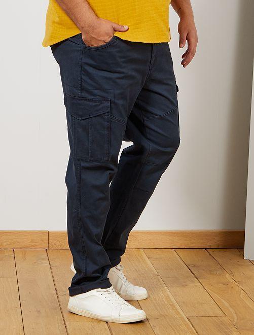 Pantalon esprit battle                             bleu marine