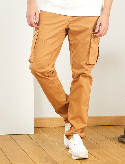 Pantalon esprit battle L36 +1m90                                         beige