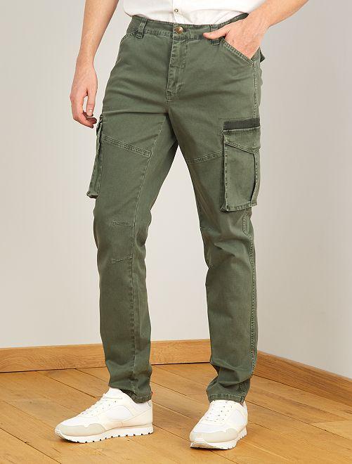 Pantalon esprit battle L36 +1m90                                         kaki