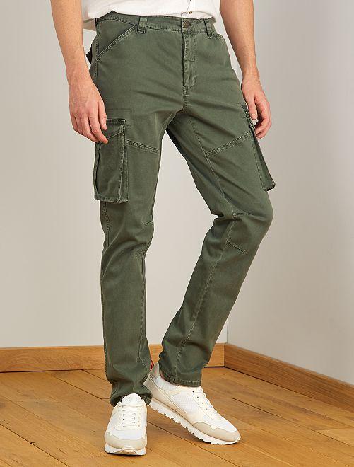 Pantalon esprit battle L38 +1m90                                         kaki