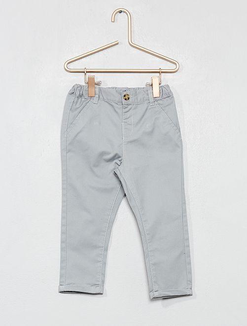 Pantalon esprit chino                                                                             gris Bébé garçon