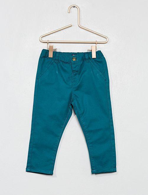Pantalon esprit chino                                                                             vert