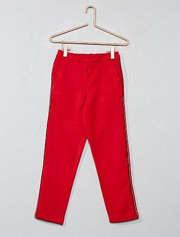 Pantalon fille - pantalon couleur b994563c9ea