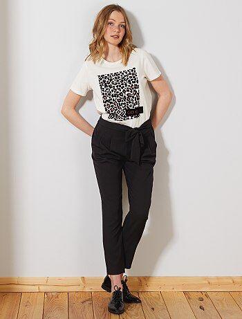 85790def17a La FemmeKiabi Fluide Mode Prix À Pantalon Petits 80nPOkw