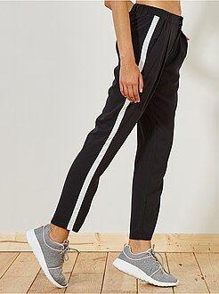 Pantalon - Pantalon fluide bandes latérales - Kiabi