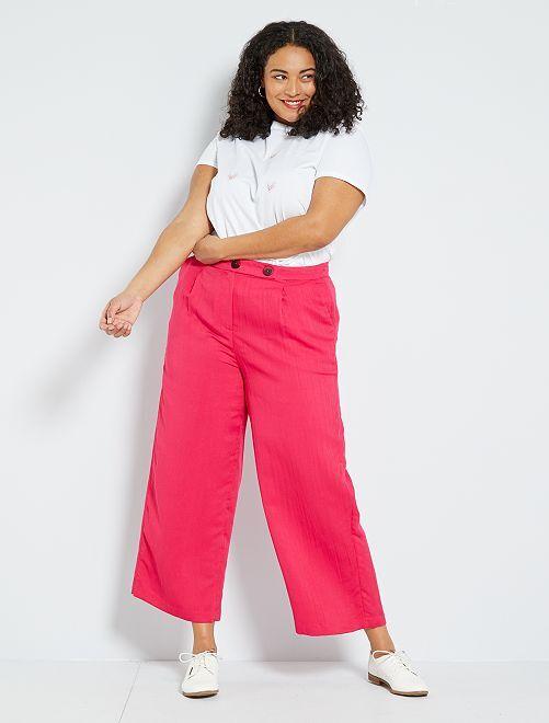 Pantalon fluide                                                                 fuchsia