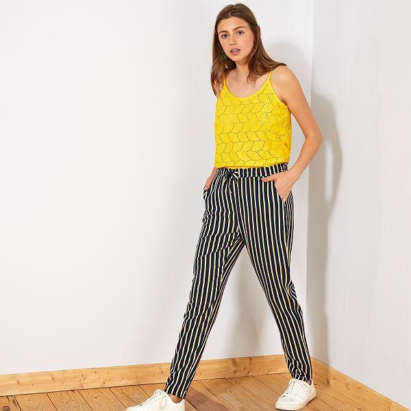pantalon femme kiabi