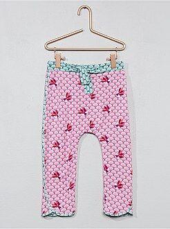 Pantalon fluide imprimé japonais - Kiabi