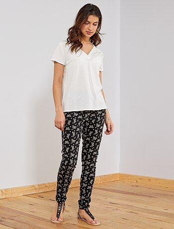 0ddf1ec0472f9c Pantalon fluide femme | Kiabi | La mode à petits prix