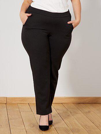 Pantalon taille elastique   Kiabi   La mode à petits prix 2641f9c23496