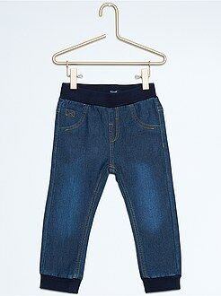 Garçon 0-36 mois Pantalon jegging façon denim
