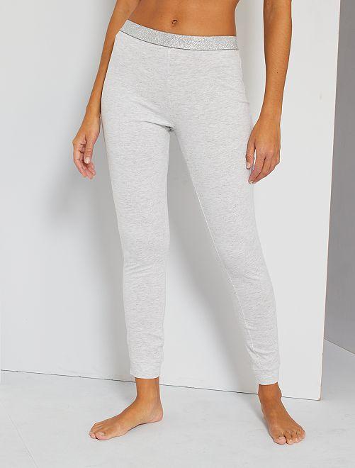 Pantalon jersey                                         gris