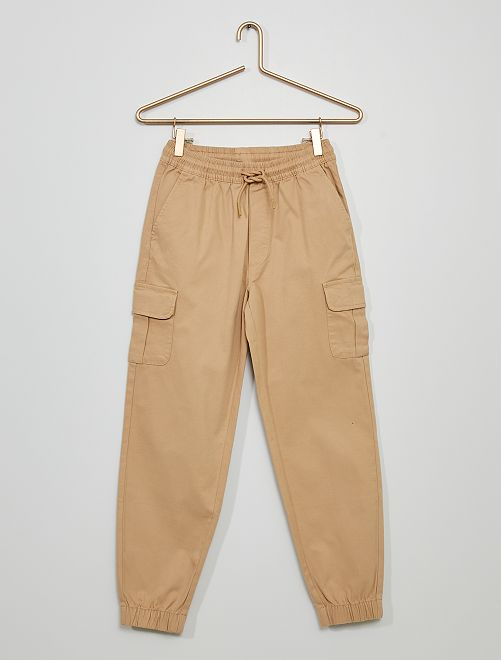 Pantalon jogger battle                                             beige