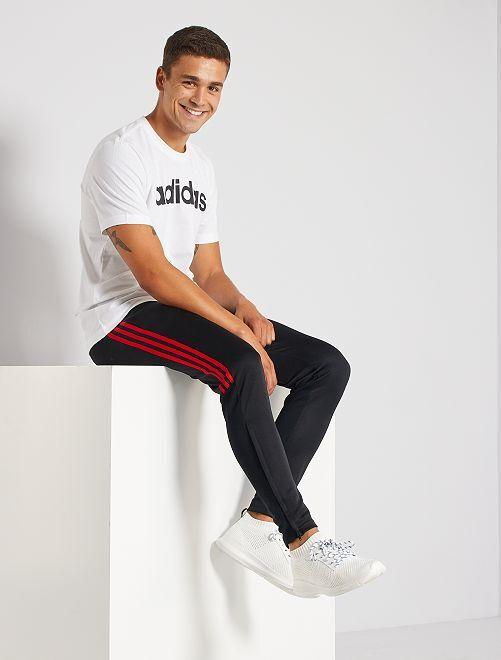 Pantalon jogging 'adidas'                             noir/rouge