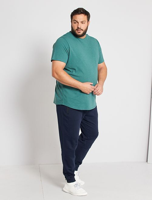 Pantalon jogging éco-conçu                             bleu marine