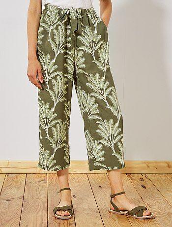ea7f0c8e10 Pantalon fluide femme | Kiabi | La mode à petits prix