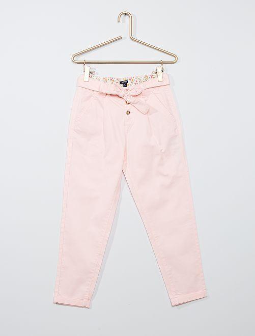 Pantalon léger                             rose clair