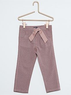 Fille 18 mois - 5 ans Pantalon maille fantaisie