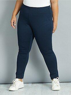 Grande taille femme Pantalon maille milano stretch