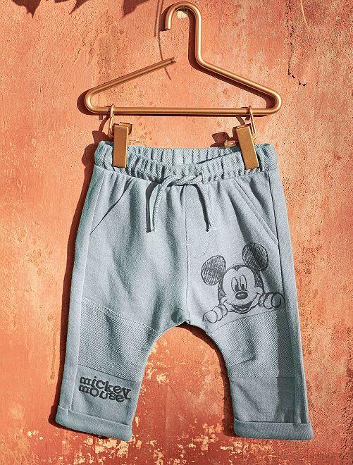 Pantalon 'Mickey' en molleton                             gris Bébé garçon