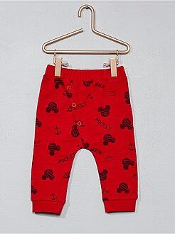 Pantalon 'Mickey' en pur coton - Kiabi