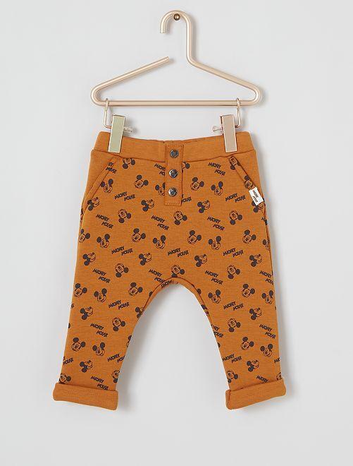 Pantalon 'Mickey'                             marron