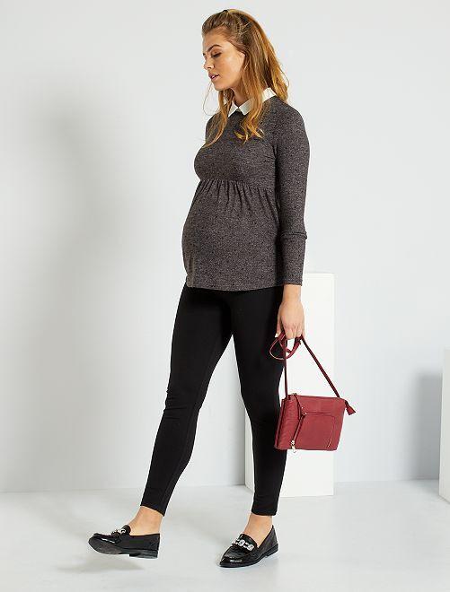 Pantalon milano de maternité                             noir