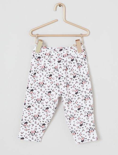 Pantalon 'Minnie'                                         blanc