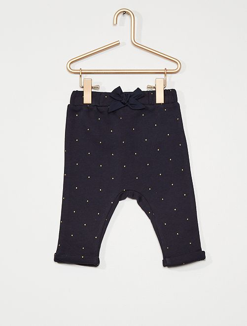 Pantalon molleton                                                         bleu