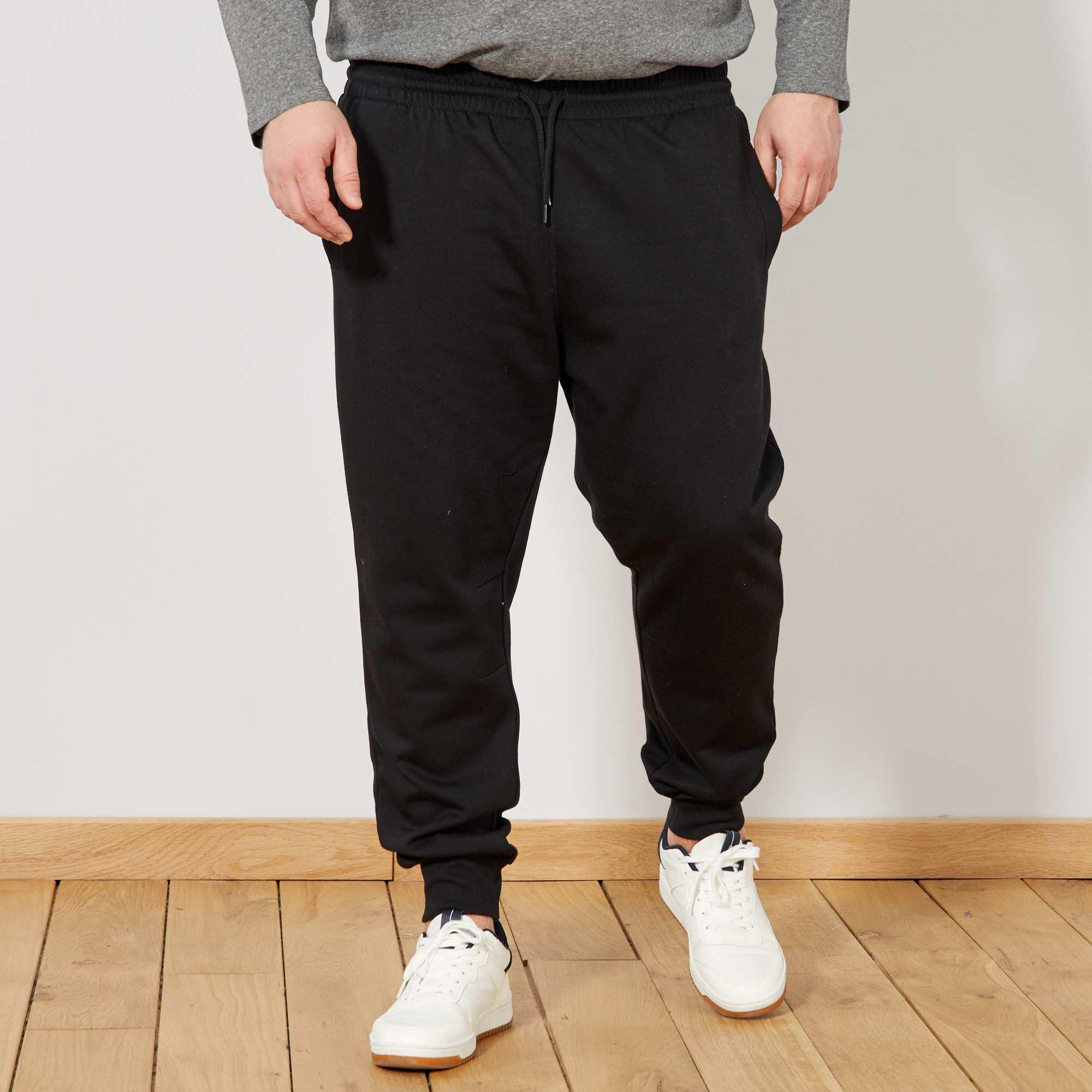 pantalon molleton grande taille homme kiabi 13 00. Black Bedroom Furniture Sets. Home Design Ideas