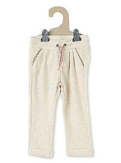 Pantalon molleton pailleté