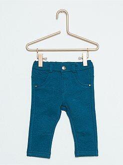 Garçon 0-36 mois Pantalon molletonné stretch